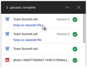 """""""Keep as separate file"""" link"""