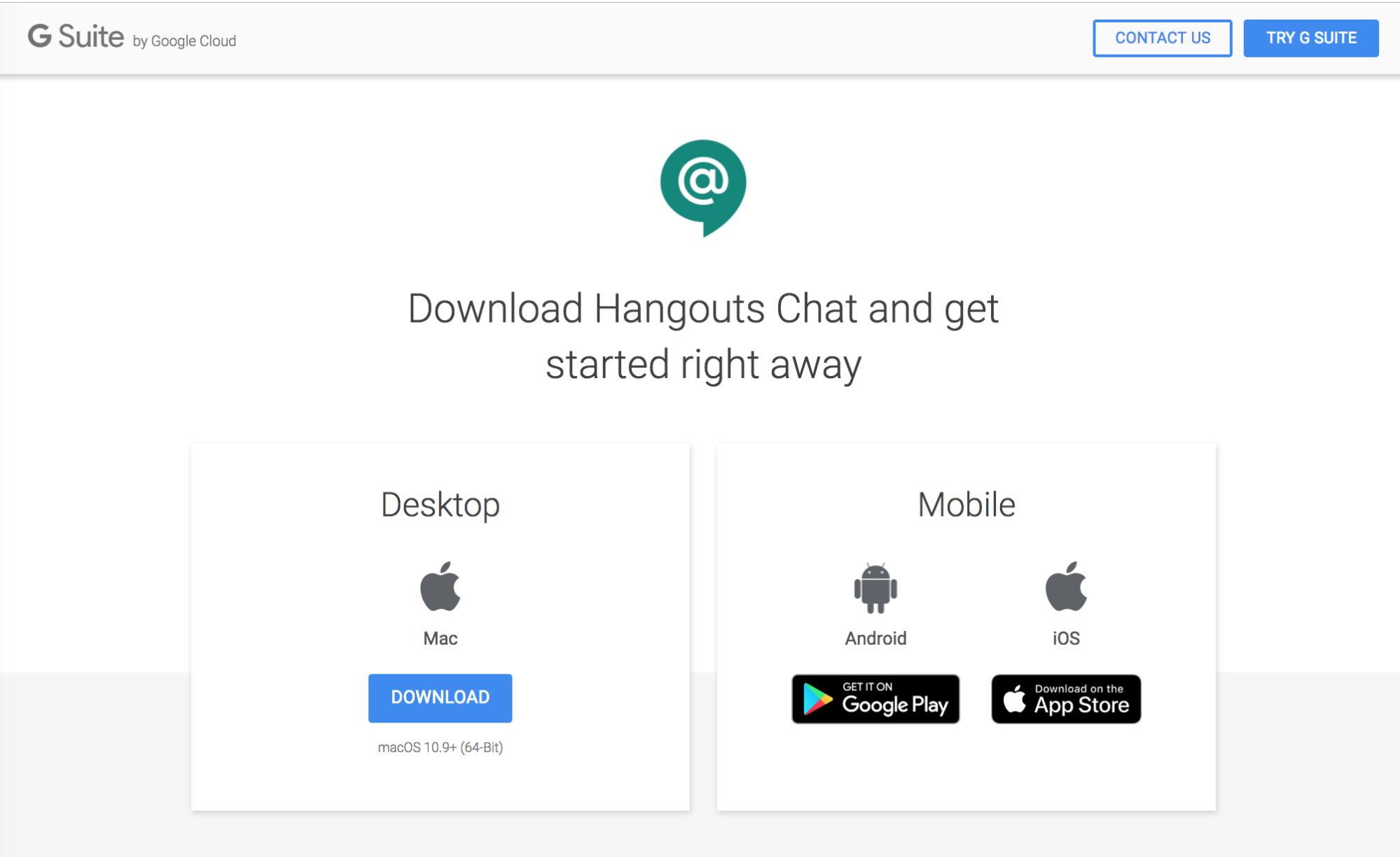 Google hangouts latest version 2019 free download.